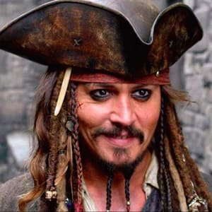 Джек Воробей Пираты Голоса персонажей из кино и мультфильмов
