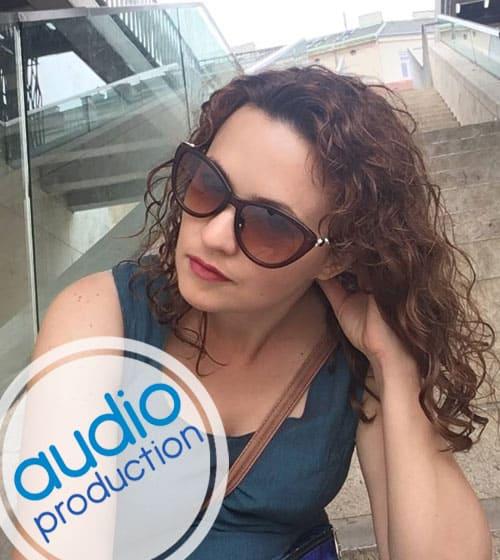 Полина Щербакова голос диктор заказать записать цена контакты